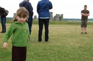 Happy H at Stonehenge