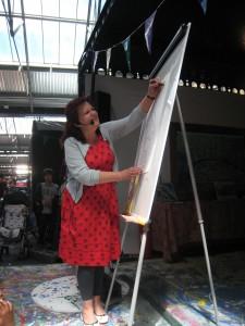 Clara Vulliamy draws Martha and her Bunny Brothers