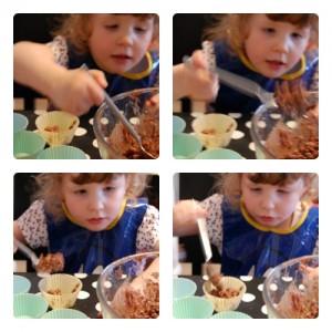Rice Krispie cakes