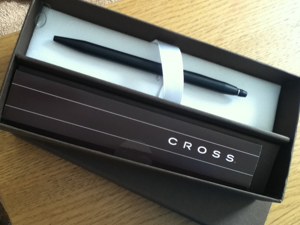 Cross Pens at BlogCamp