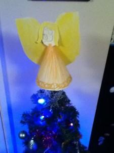 Our Christmas Tree Angel