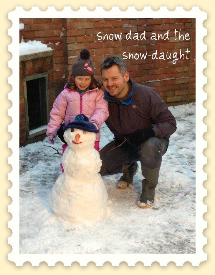 snowdad and the snow-daut