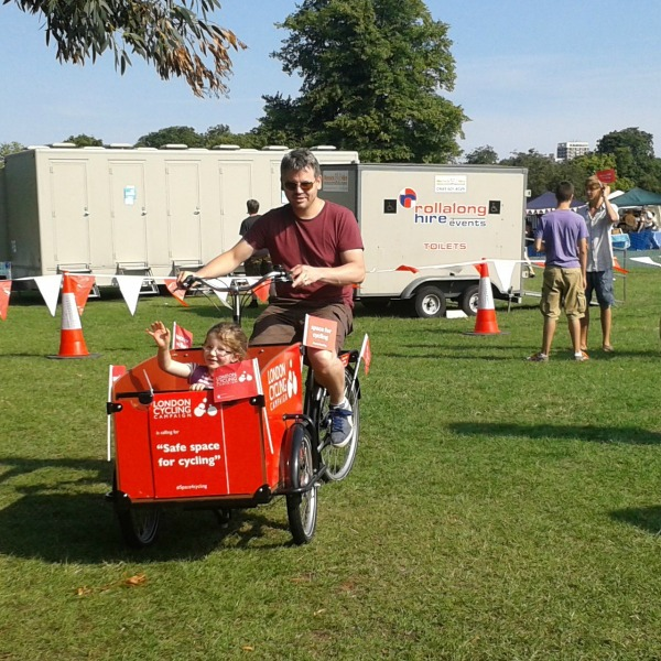 Carshalton Environmental Fair cycling