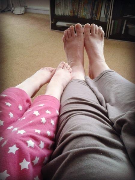 pyjama legs