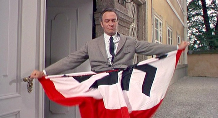 Captain von Trapp Ripping the flag