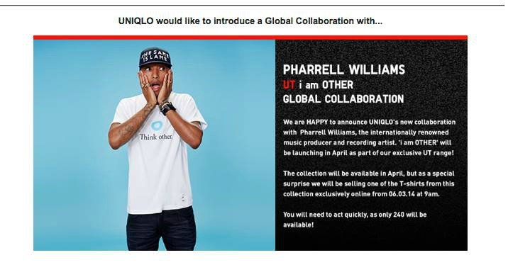 pharrell uniqlo